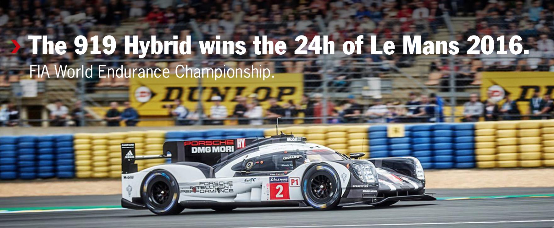 Triumf Porsche w wyścigu 24h Le Mans 2016